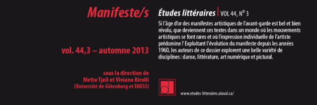 Manifeste/s