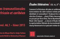 Géographies transnationales du texte africain et caribéen