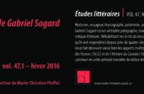 Autour de Gabriel Sagard